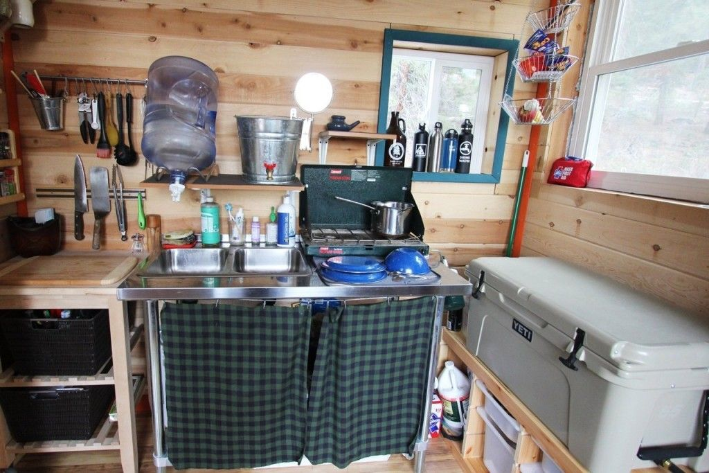Kitchen Cabinets For Tiny Houses 13 Alternative Designs Tiny Cabin Kitchen Tiny House Kitchen Tiny House Appliances