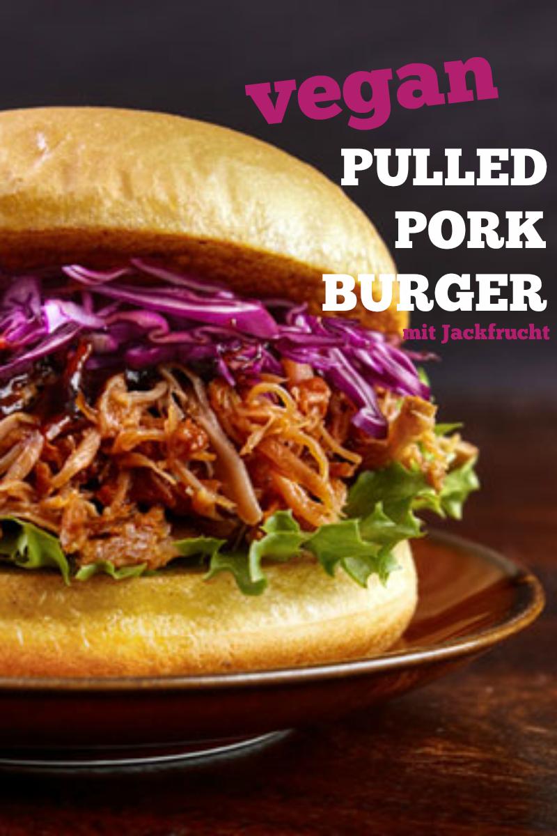 vegane pulled pork burger aus jackfrucht selber ma in 2019. Black Bedroom Furniture Sets. Home Design Ideas