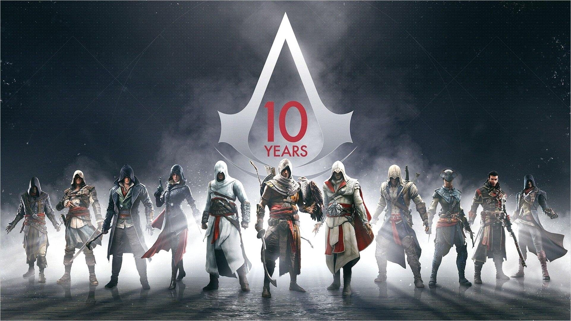 4k Wallpaper Assassins Creed All Characters In 2020 Assassins