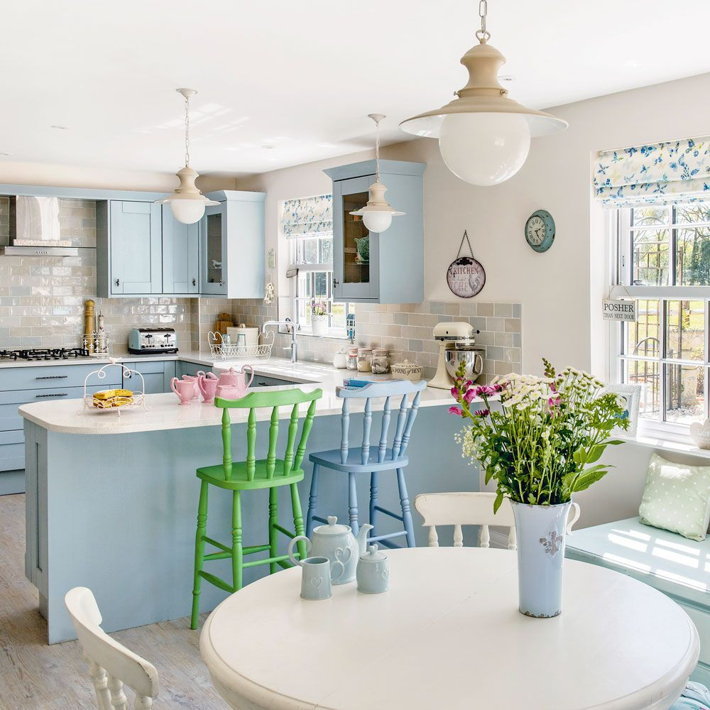 Take a look around this light-filled New England-style house in ...
