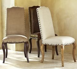 kitchen chairs, counter stools & fabric dining chairs | pottery