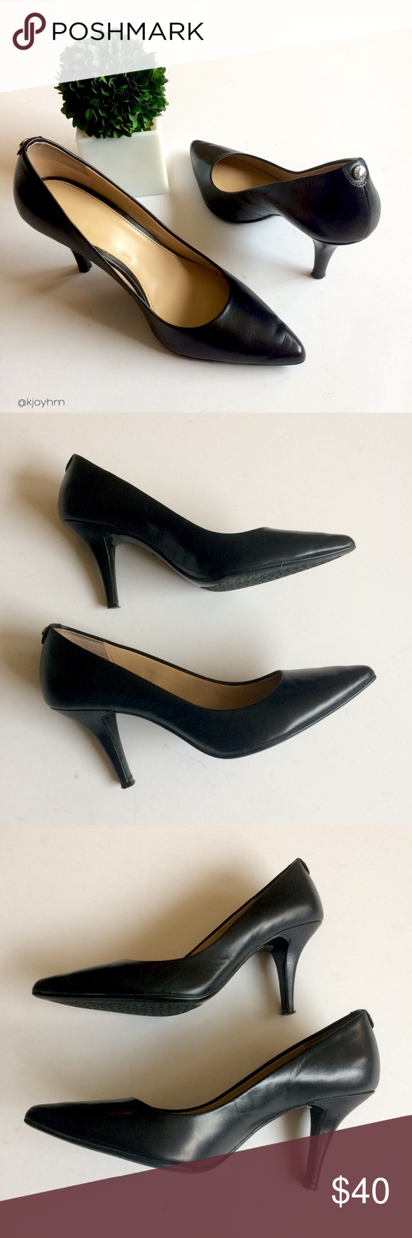 017a9abf31e Leather Court Shoes. Michael Kors