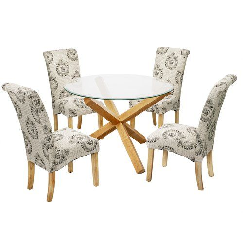Swell Riley Ave Oporto Dining Table With 4 Chairs In 2019 Uwap Interior Chair Design Uwaporg