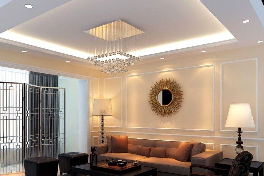 ديكورات أرابيا ديكورات جبس لأسقف وحوائط غرف النوم والمعيشة أفضل ديكورات الجبس ديكورات ج False Ceiling Living Room Ceiling Design Modern House Ceiling Design