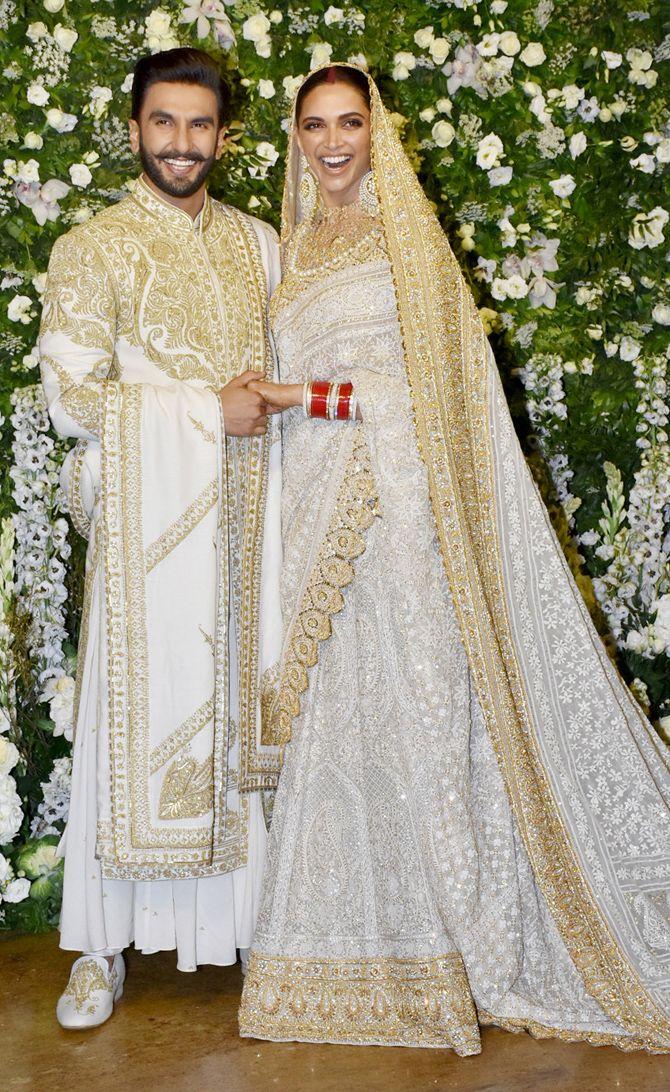 Ranveer Singh, Deepika Padukone ooze royalty at their