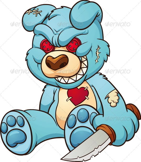 evil cear bears coloring pages - photo#33