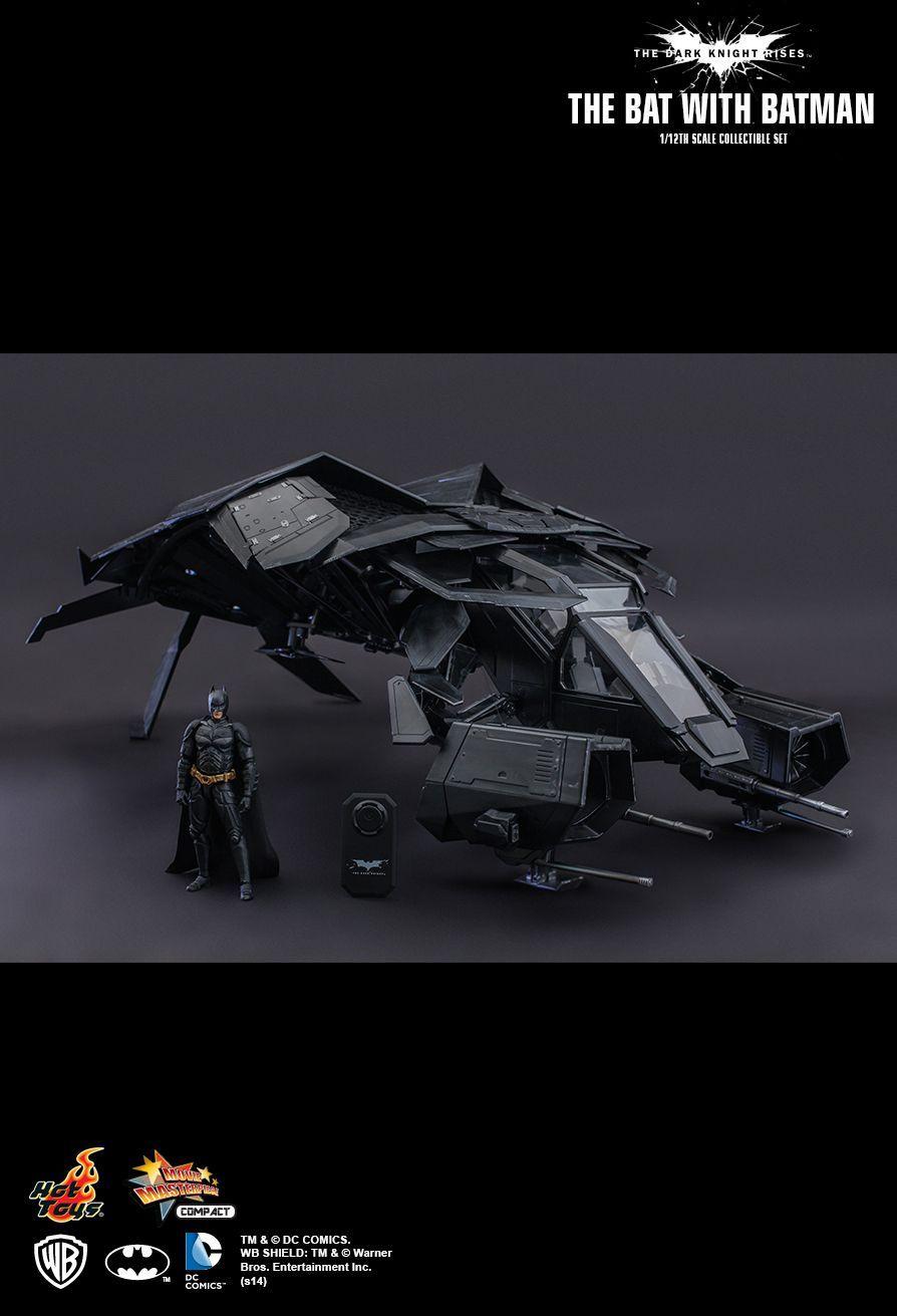 Batman The Dark Knight Rises The Bat Vehicle