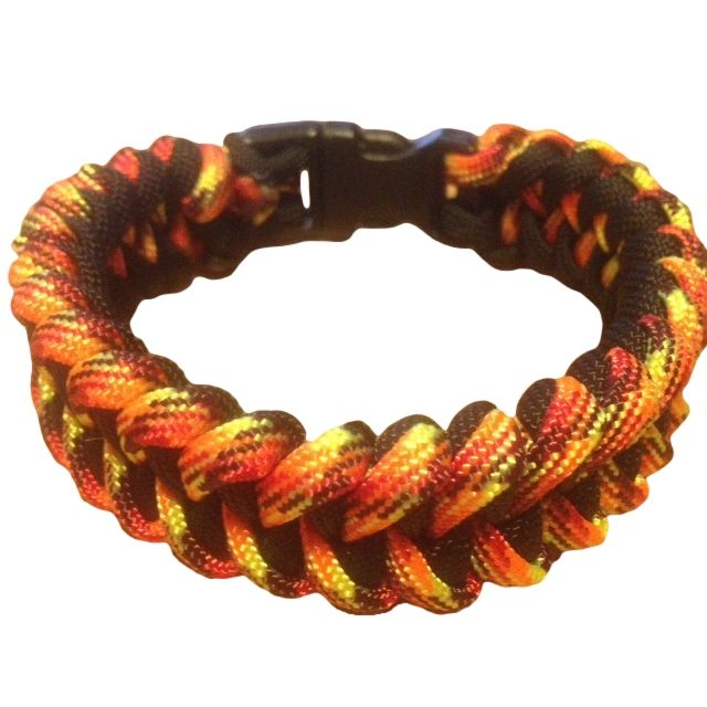 Get Viper Paracord Bracelet Instructions, Step By Step