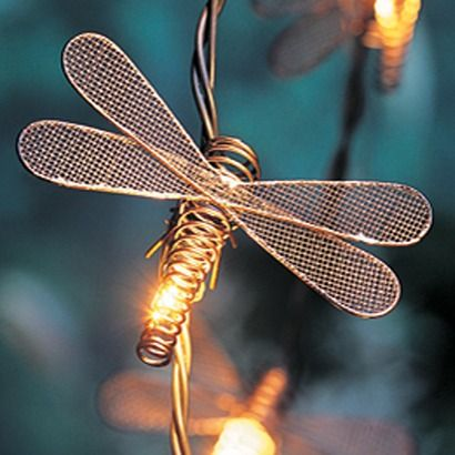 Home String Lights Dragonfly 10 Ct From Target