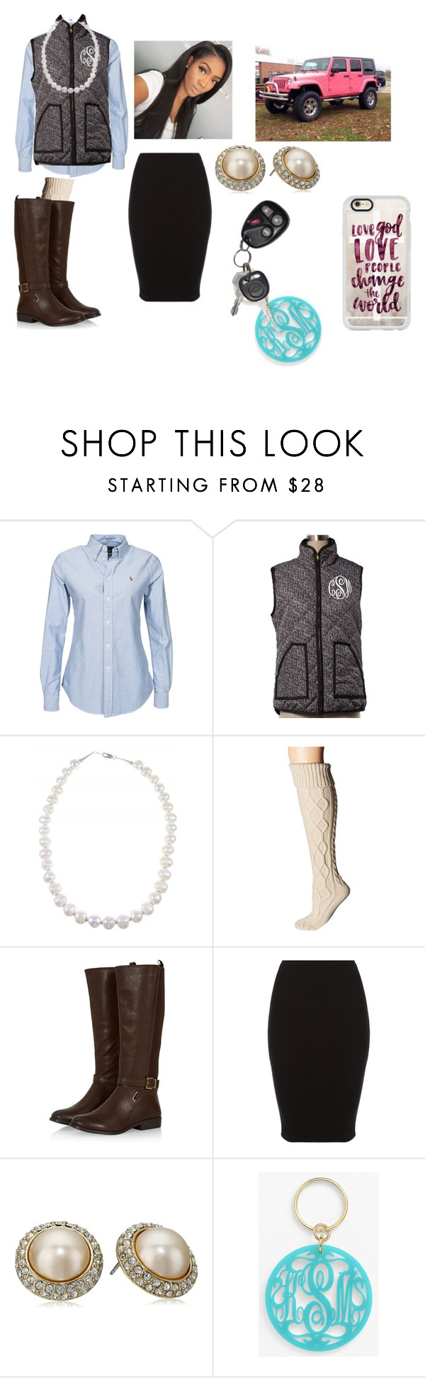 """""""Love God, Love People and Change the World"""" by chanel-xoxo123 ❤ liked on Polyvore featuring Polo Ralph Lauren, Free People, Carolee, Moon and Lola and Casetify"""
