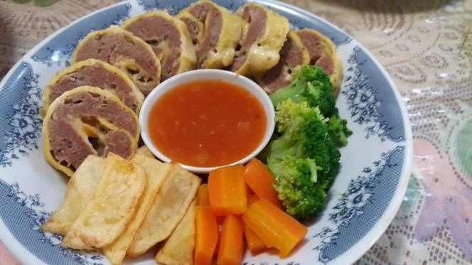 Resep Rolade Daging Keju Oleh Nancy Resep Daging Resep Keju