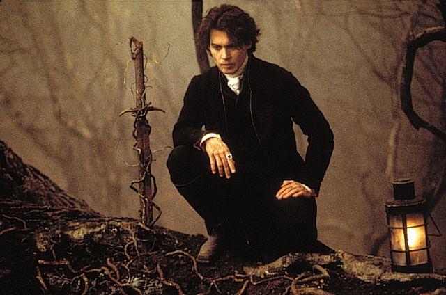 Johnny Depp 'Sleepy Hollow' promo photo