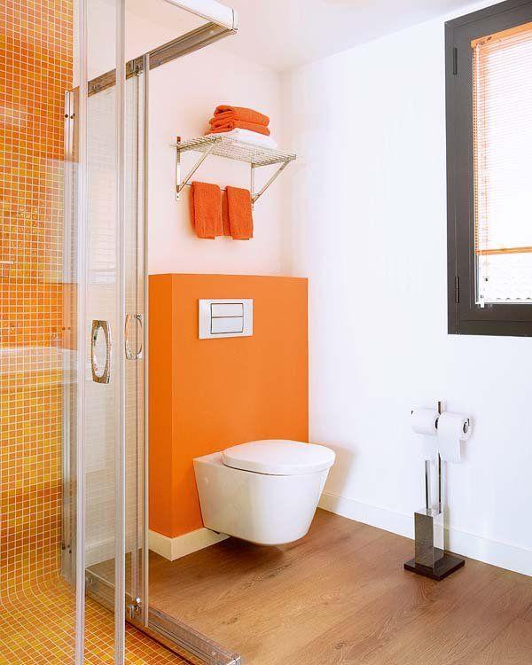 Ejemplos de cuartos de ba o con ducha y los planos for Cuartos de bano con ducha