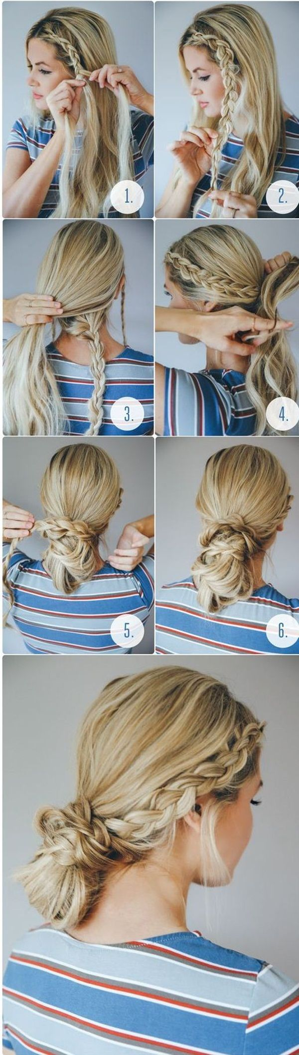40 Easy Hairstyles for Schools to Try in 2016 | Long hair ...
