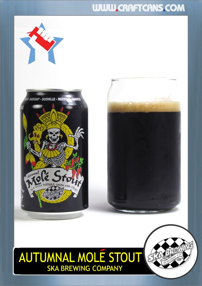 Autumnal Mole Stout (Ska Brewing Company) | Canned Craft ...