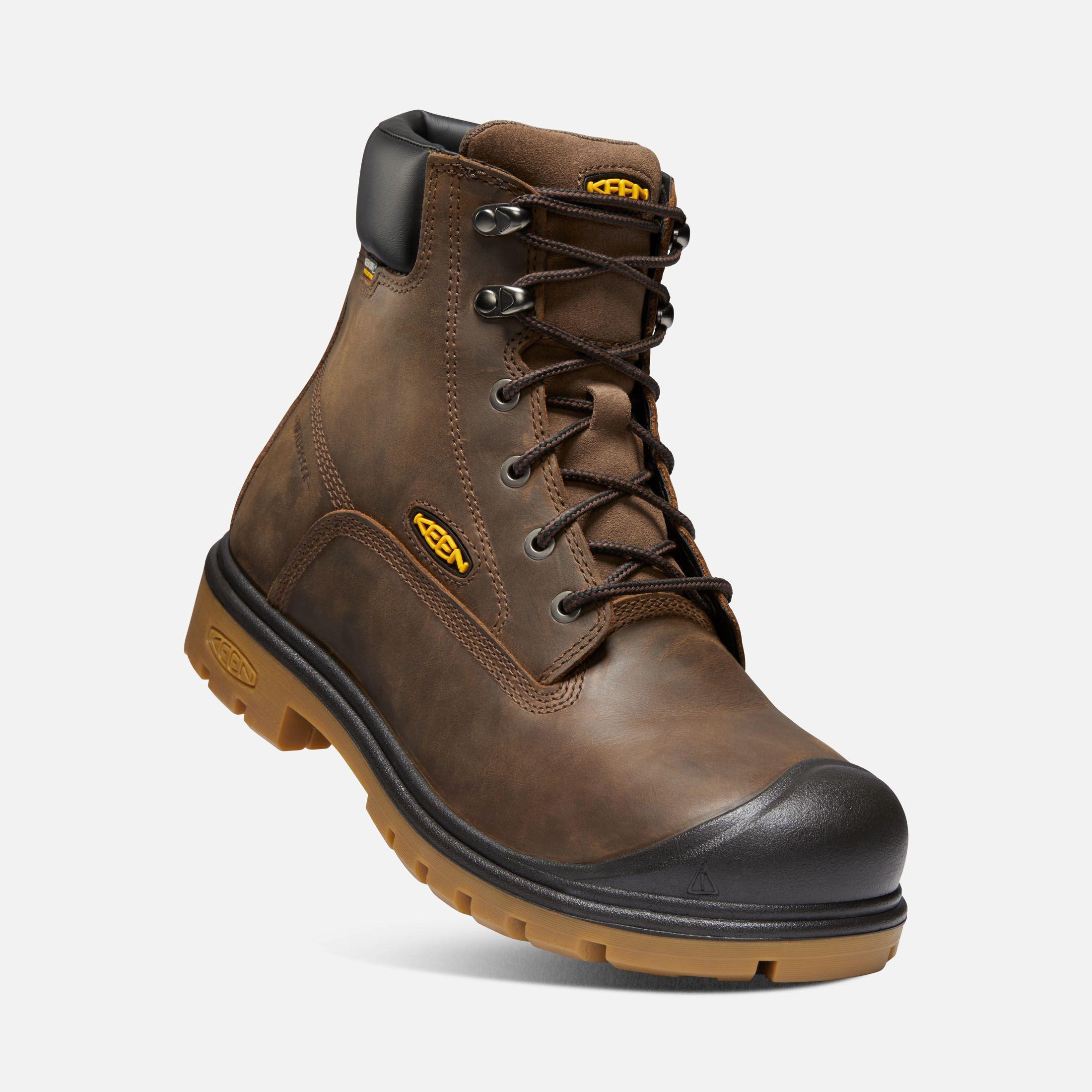 Men S Baltimore 6 Waterproof Boot Soft Toe Waterproof Steel