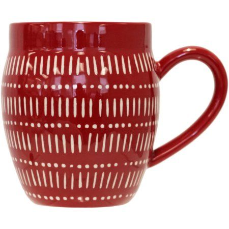Better Homes And Garden Cedonia Mug, Red