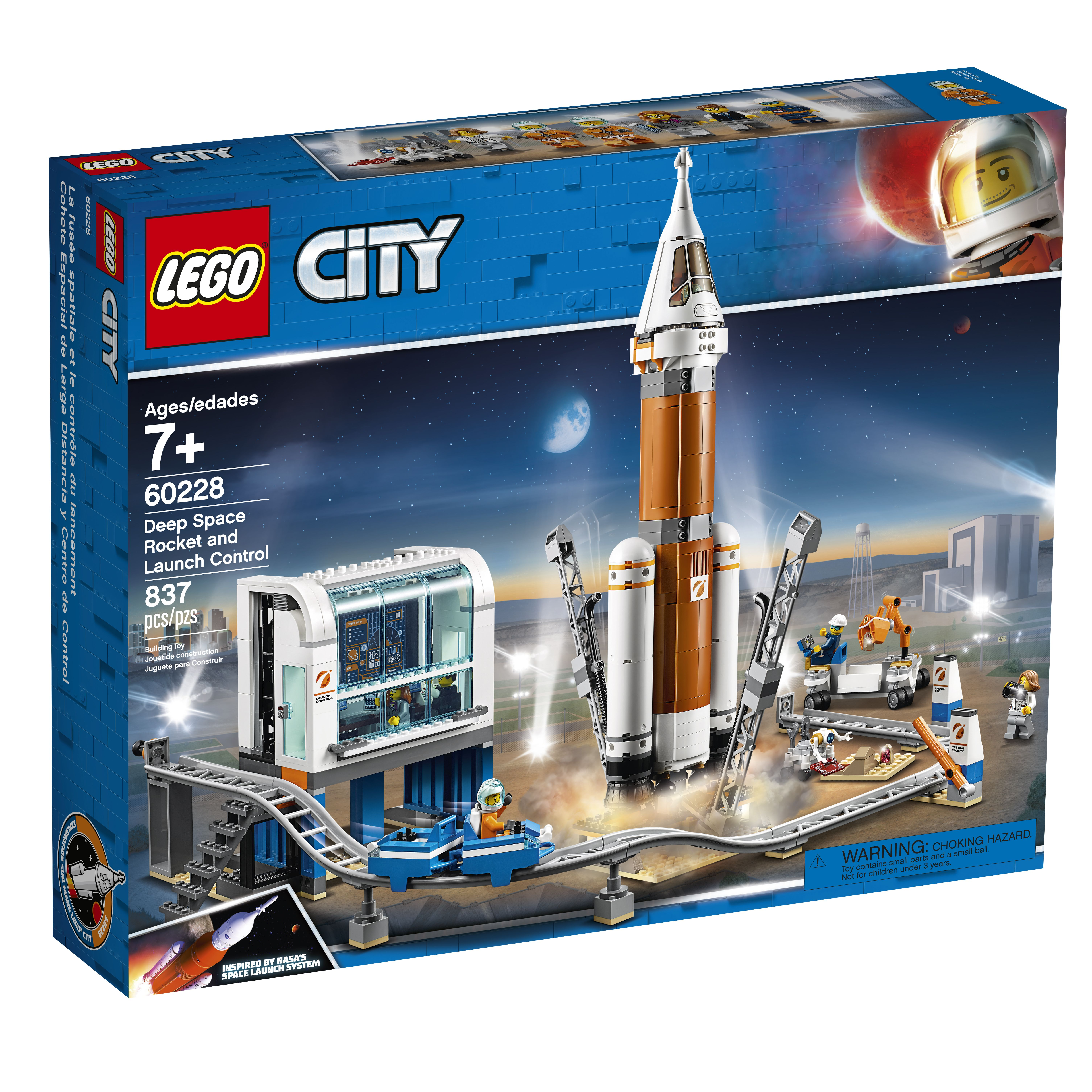 Lego Is Launching New Nasa Themed Sets This Month They Re Out Of This World Lego City Space Lego City Lego