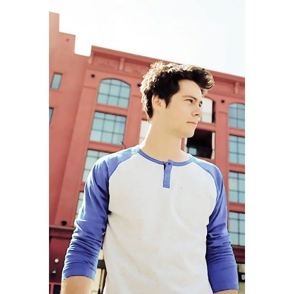 Dylan O'Brien Source ❤ liked on Polyvore featuring teen wolf