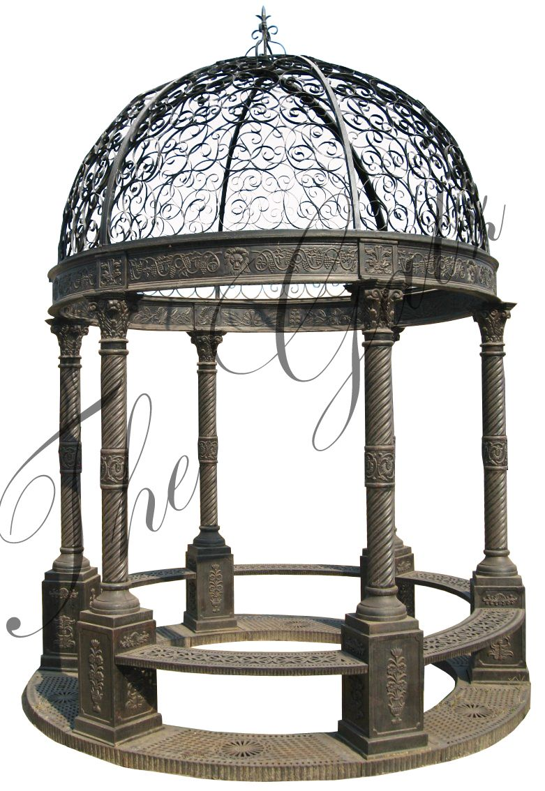 Victorian Design Cast Iron Gazebo Find This And Many Other Designs As Well As Custom Work At Www Thegatz Com Victorian Gazebo Gazebo Pergola Plans Roofs