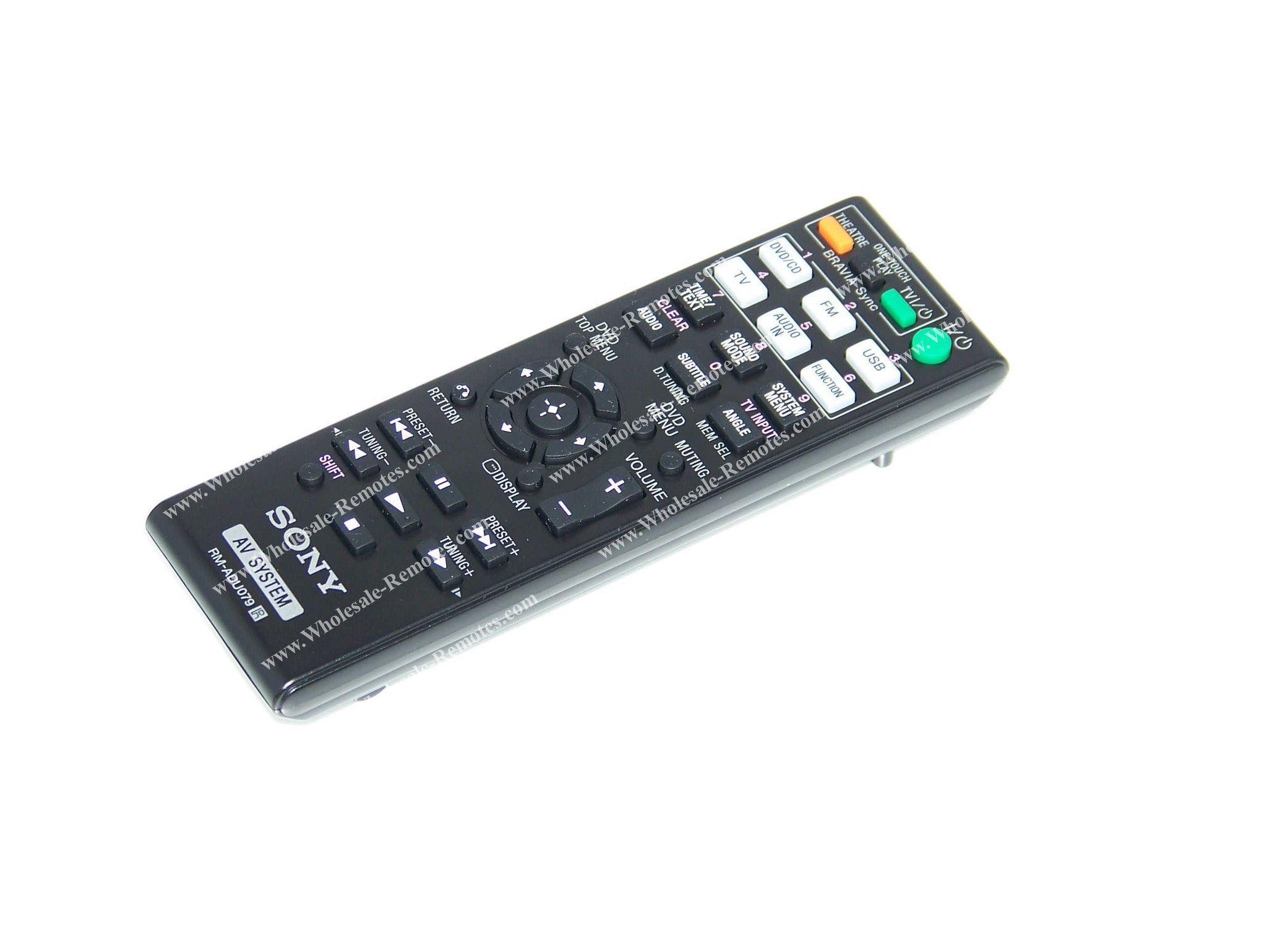 RM-ADU079 Sony Remote Control