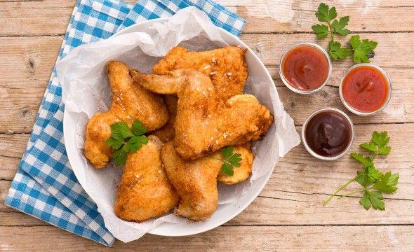 Alette di pollo fritto