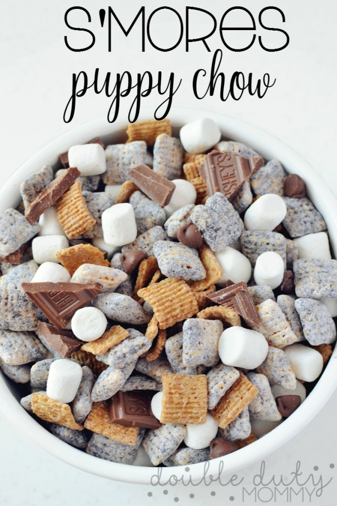 Photo of S'mores Muddy Buddies Snack Mix – Double Duty Mommy