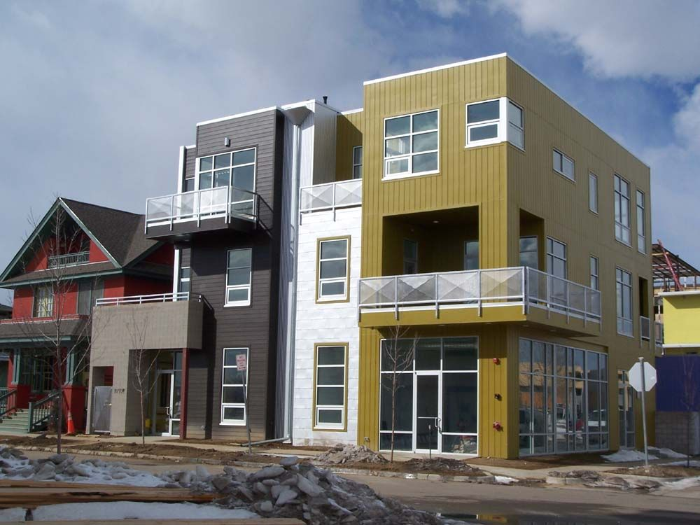 Modern townhouse floor plans infill urban google search for Contemporary townhouse plans