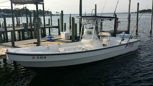 Diesel Panga Center Console Amazing Boat 26 5 Ft Low