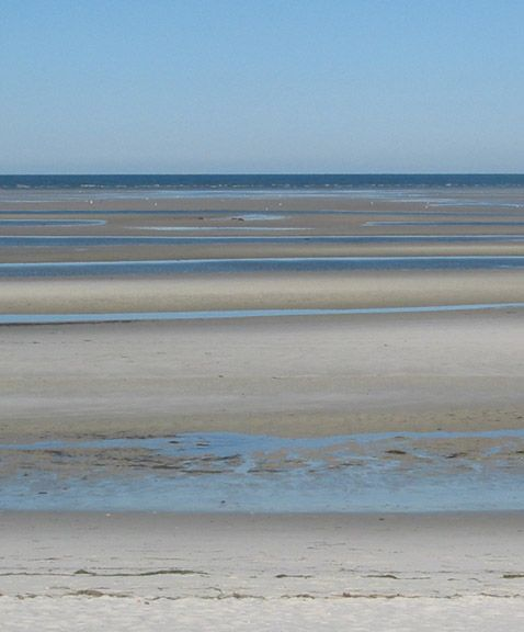 Skaket Beach Cape Cod Ma At Low Tide You Can Walk 3 4 Miles Out Been Here