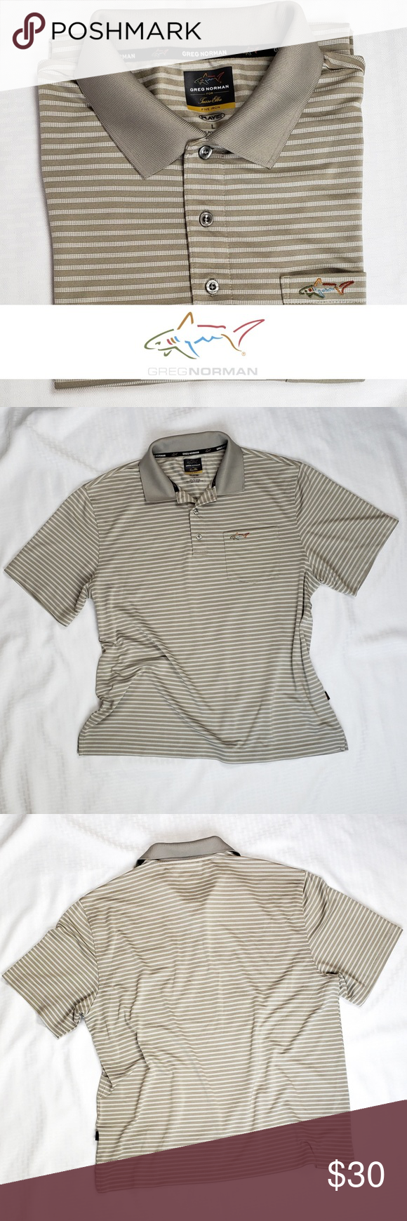 Greg Norman Golf Polo L Clothes Design Fashion Design Fashion