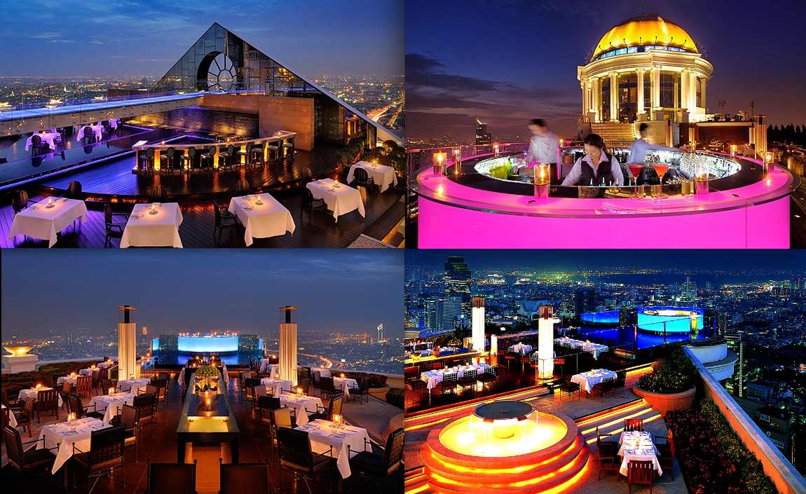 Lebua State Tower - Bangkok - Sirocco - Breeze - Sky Bar ...