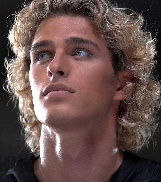 vasily stepanov mens blonde wavy hair character