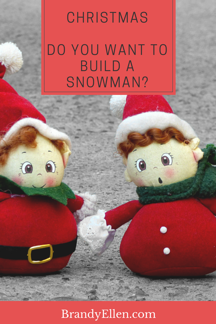 Here\'s how the Brandy Ellen Family built a plywood snowman. No snow ...