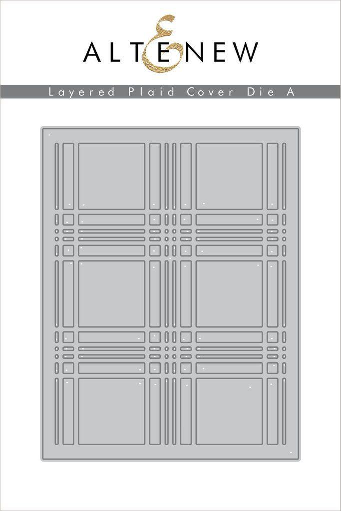 Layered Plaid Cover Die A
