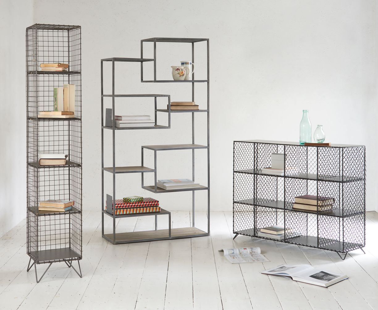 Mesh Shelving Mish Mesh In 2019 Showroom For Car Accessories Wire Shelving