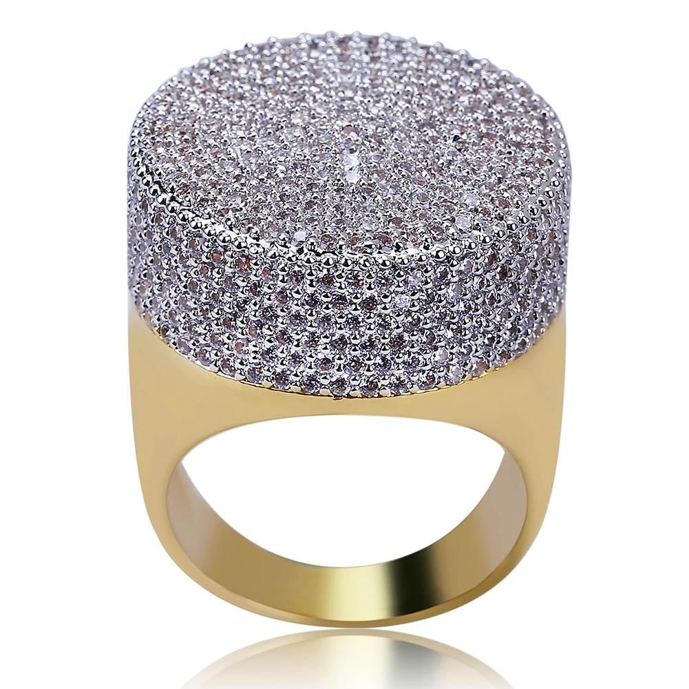 2ab3d82147607 Fully iced stamp ring in 2019 | jewelry too buy | Jewelry, Luxury ...