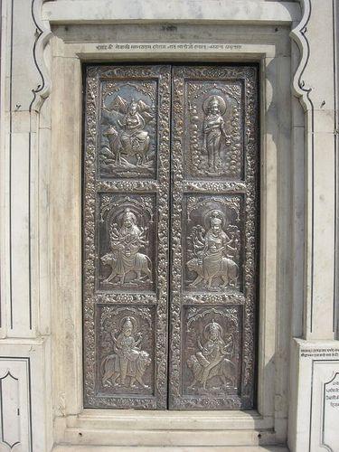 Silver door at Sri Durgiana temple