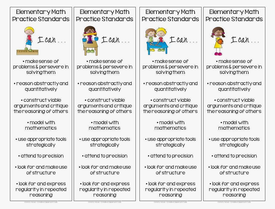 Elementary Math Practice Standards