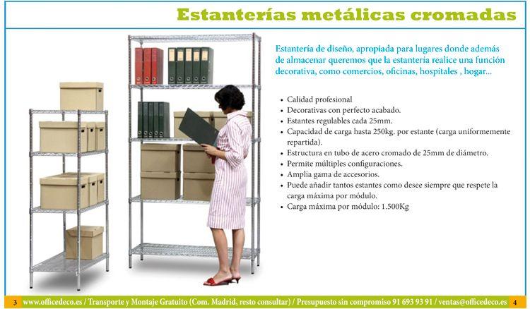Muebles De Oficina Estanterias Metalicas Sillas De Oficina
