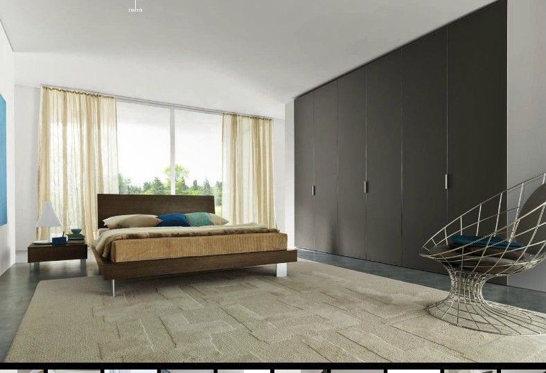Closet Design Ideas, Wall To Ideas Large Master Bedroom Elegant Simple  Classic Luxury Comfortable Bed Soft Rug Wide Wardrobe Black Coloured: To