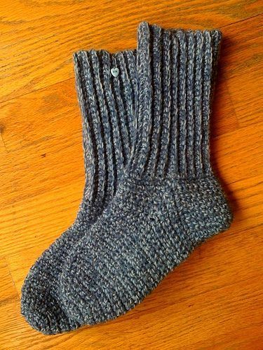 Crocheted Socks By Sue Norrad Free Crochet Pattern Ravelry
