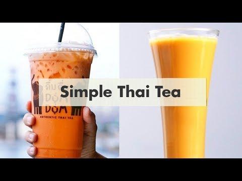 Cara Membuat Thai Tea Ala Dum Dum Cheat Day Youtube Makanan Resep Makanan Diet