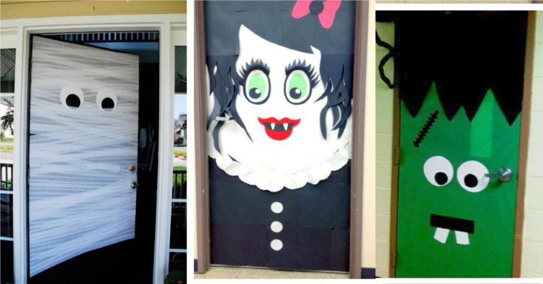 37 DIY Halloween Door Decorations Ideas Halloween door decorations - simple halloween decorations