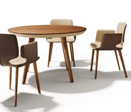 Flaye Dining Table Image 2 Medium Sized Round Dining Table