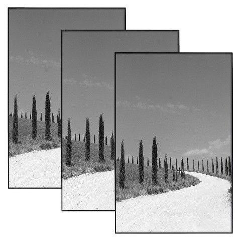 13x19 Glass Poster Frames 3 Pack Target Home Pinterest