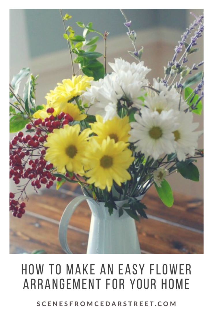 5 Steps To An Easy Flower Arrangement Beautiful Flower