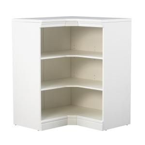 Gentil Home Decorators Collection Manhattan Modular 3 Shelf Storage Corner Unit In  White 9155700410 At The