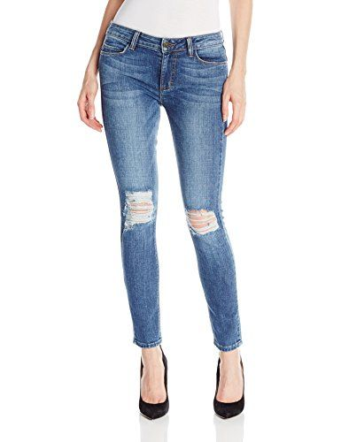 Siwy Womens Ladonna Mid Rise Slim Crop Jean in No Other Love