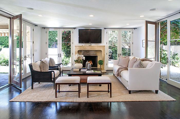 Cook Like A Celebrity Chef In Wolfgang Puck S L A Home French Country Living Room Living Room Furniture Layout Classic Living Room